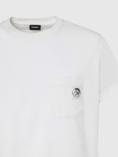 Diesel - T-WORKY-MOHI, Weiß - T-Shirts - Image 3