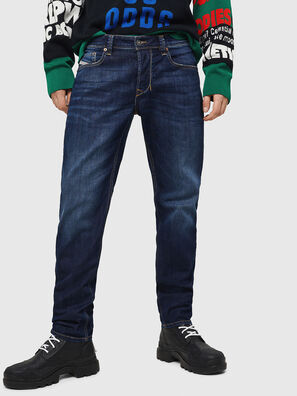 Larkee-Beex 082AY, Dunkelblau - Jeans