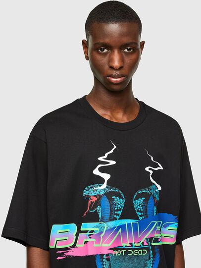 Diesel - T-DELPHI-E1, Schwarz - T-Shirts - Image 3