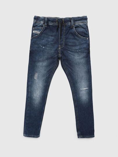 Diesel - KROOLEY-JOGGJEANS-J, Mittelblau - Jeans - Image 1