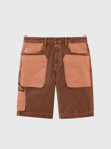 Shorts im Utility-Style im Patchworkdesign aus JoggJeans®-Material