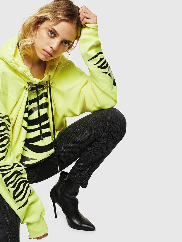 F-ALBYHOOK-C, Neongelb - Sweatshirts