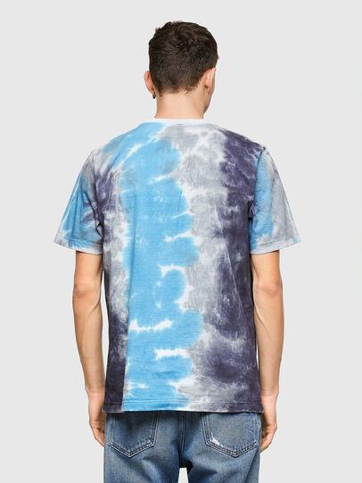 Diesel - T-JUST-E13, Grau/Blau - T-Shirts - Image 2