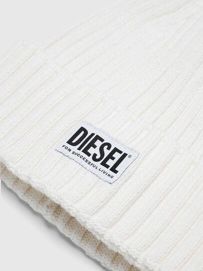 Diesel - K-CODER-E, Weiß - Mützen - Image 3