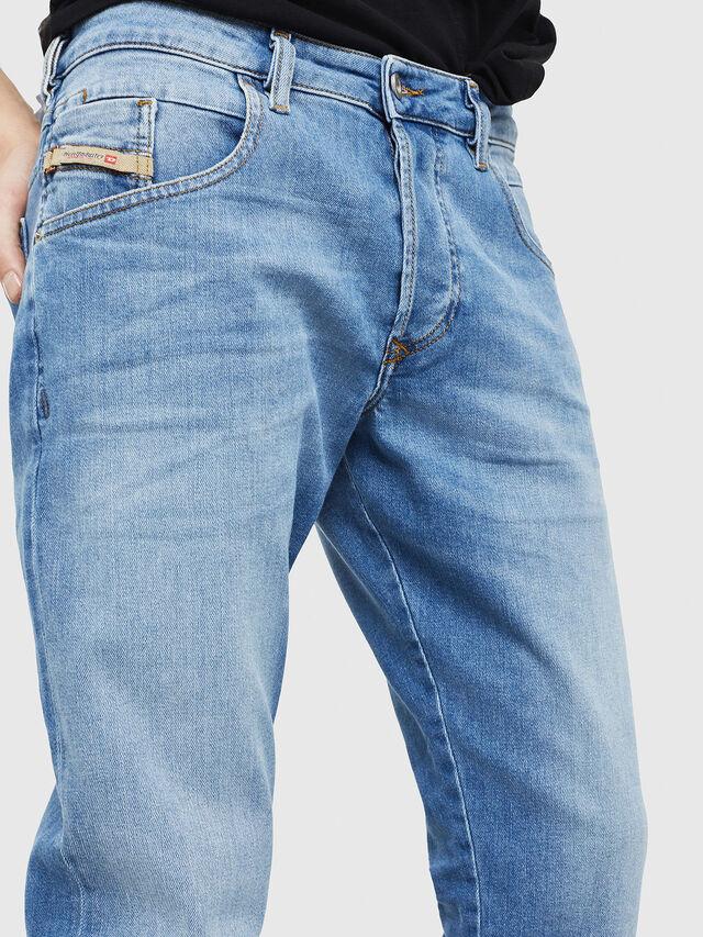 Diesel - D-Bazer 087AQ, Hellblau - Jeans - Image 4