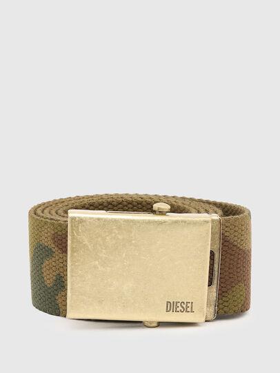 Diesel - B-COMBA, Camouflagegrün - Gürtel - Image 1