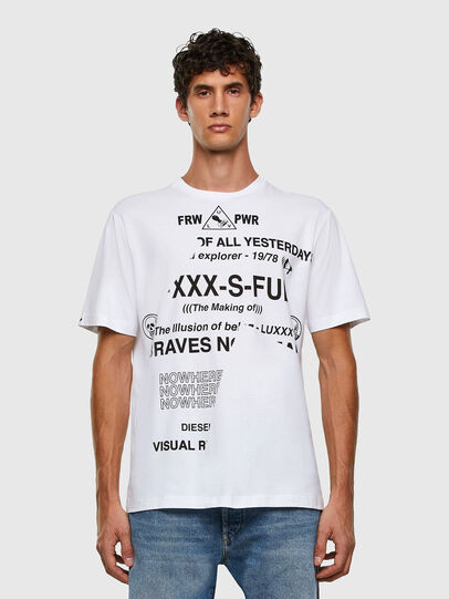 Diesel - T-JUST-FOLDED, Weiß - T-Shirts - Image 6