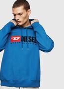 S-DIVISION, Blau - Sweatshirts