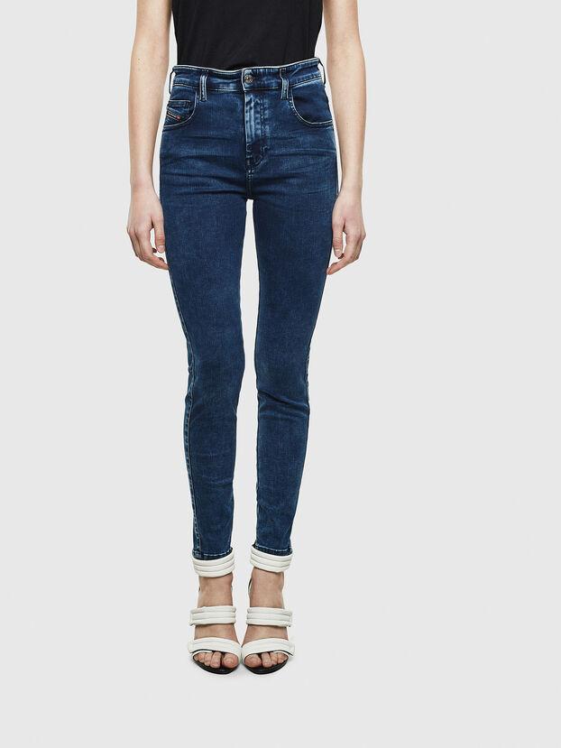 Slandy High 0094Z, Dunkelblau - Jeans