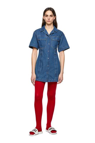 Denim-Shirtkleid