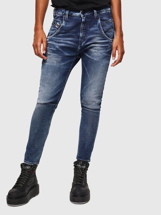 Fayza JoggJeans 0096M, Dunkelblau - Jeans
