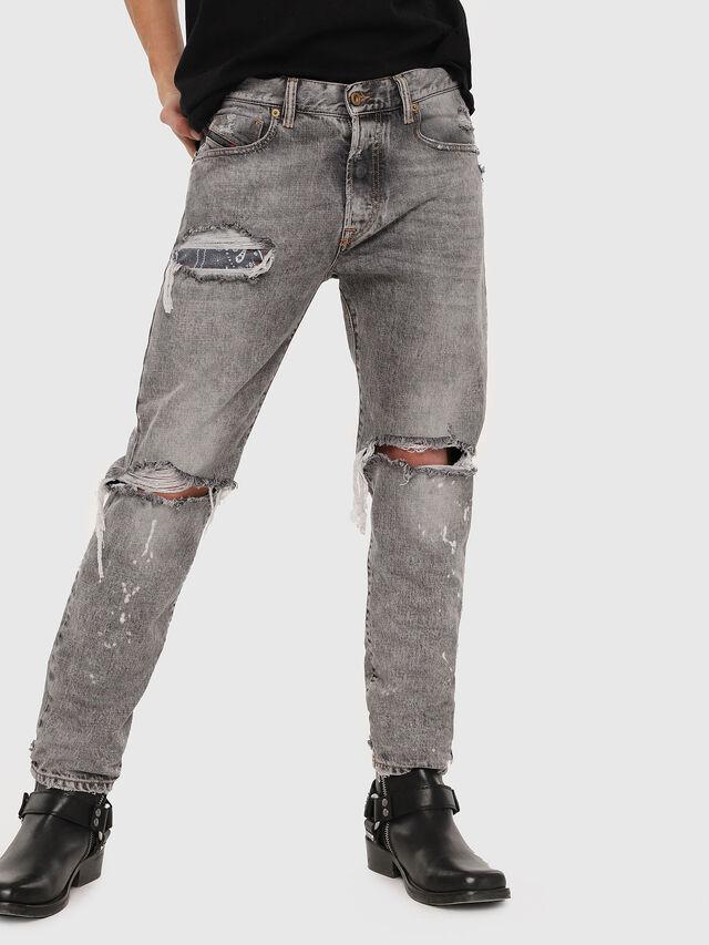 Diesel - Mharky 089AT, Hellgrau - Jeans - Image 1
