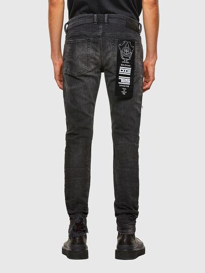 Diesel - Sleenker 009JN, Schwarz/Dunkelgrau - Jeans - Image 2