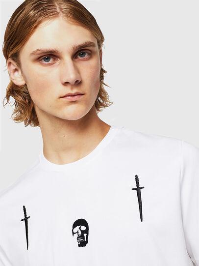 Diesel - TY-X2, Weiß - T-Shirts - Image 3