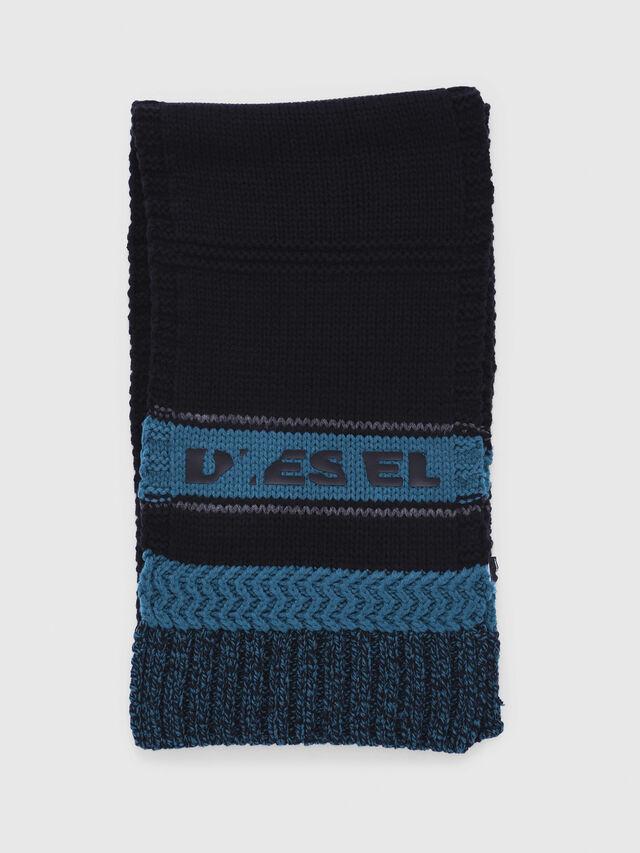 Diesel - CADO-KIT, Schwarz/Blau - Schals - Image 4