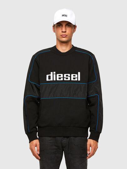 Diesel - S-LAIN, Schwarz - Sweatshirts - Image 1