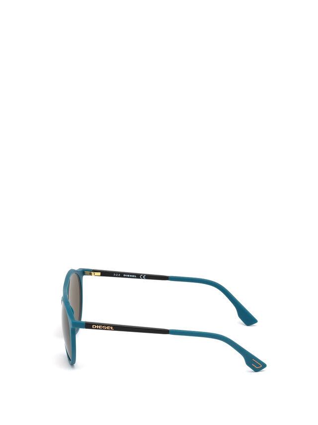 Diesel - DM0195, Blau - Brille - Image 3