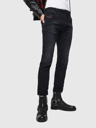 Diesel - Krooley JoggJeans 069KJ, Schwarz/Dunkelgrau - Jeans - Image 1