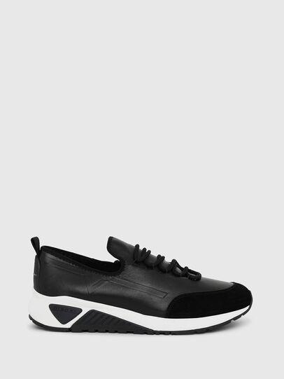 Diesel - S-KBY, Lederschwarz - Sneakers - Image 1