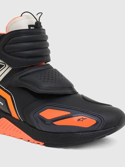 Diesel - ASTARS-SKBOOT, Schwarz/Orange - Sneakers - Image 7