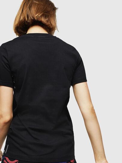Diesel - T-SILY-WMA, Schwarz - T-Shirts - Image 2
