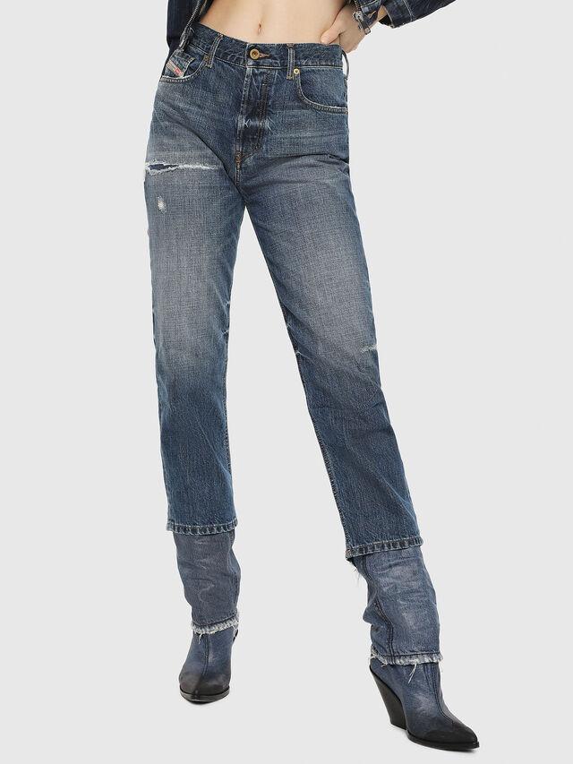 Diesel - Aryel 080AH, Mittelblau - Jeans - Image 1