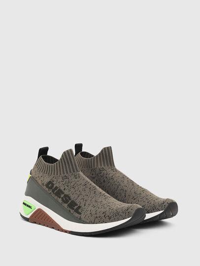 Diesel - S-KB SOCK QB, Olivgrün - Sneakers - Image 2