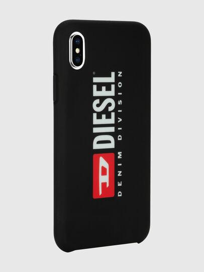 Diesel - DIESEL PRINTED CO-MOLD CASE FOR IPHONE XS MAX, Schwarz/Weiß - Schutzhüllen - Image 6
