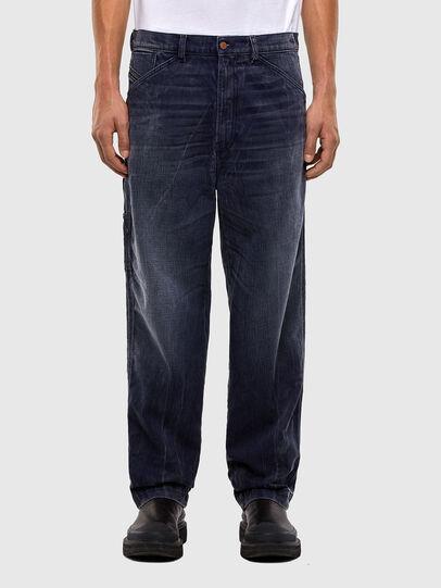 Diesel - D-Franky 009IY, Dunkelblau - Jeans - Image 1
