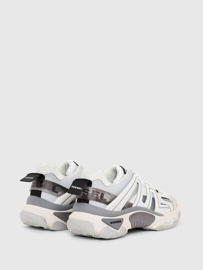 Diesel - S-KIPPER LOW TREK, Weiß/Grau - Sneakers - Image 3