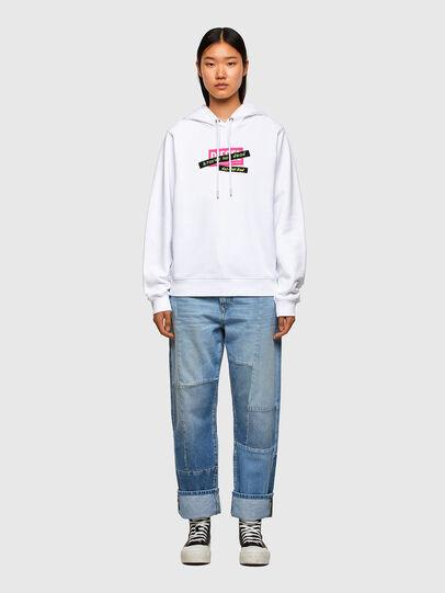 Diesel - F-ANG-HOOD-R20, Weiß - Sweatshirts - Image 4