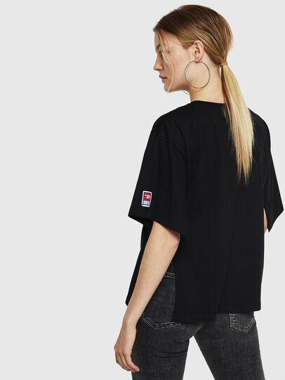 Diesel - T-JACKY-I, Schwarz - T-Shirts - Image 2