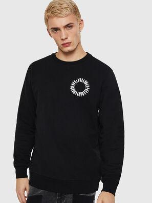 S-GIR-A3, Schwarz - Sweatshirts