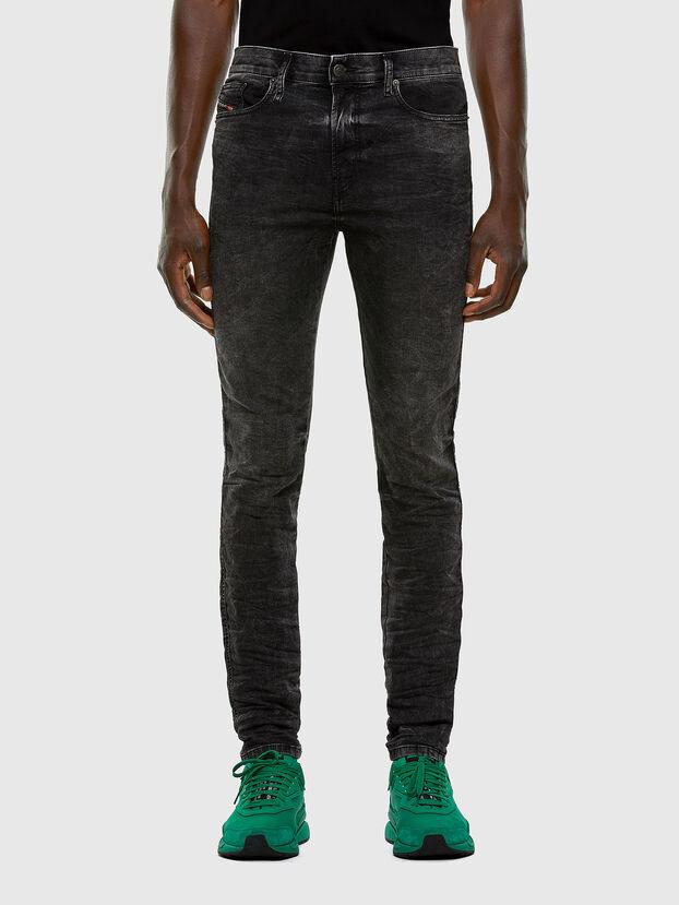 D-Reeft JoggJeans 009FZ, Schwarz/Dunkelgrau - Jeans
