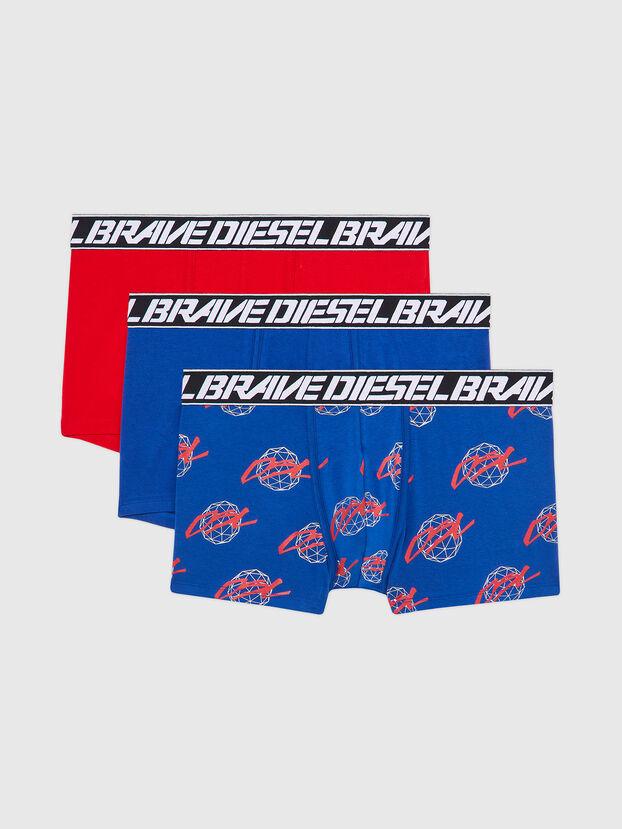 UMBX-DAMIENTHREEPACK, Blau/Rot - Boxershorts