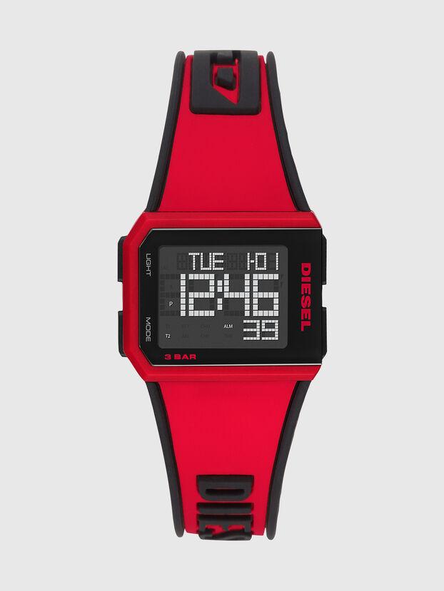 DZ1923, Rot/Schwarz - Uhren