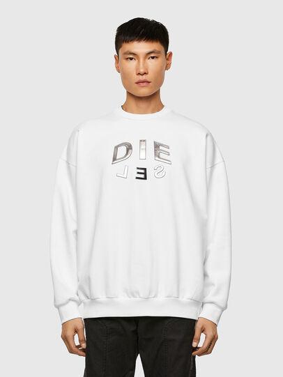 Diesel - S-MART-A90, Weiß - Sweatshirts - Image 1