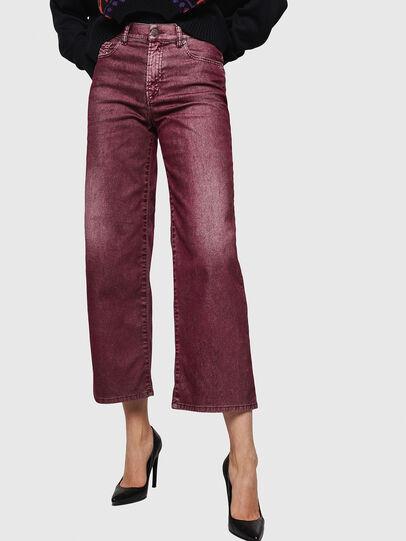 Diesel - Widee 0091T, Burgunderrot - Jeans - Image 1