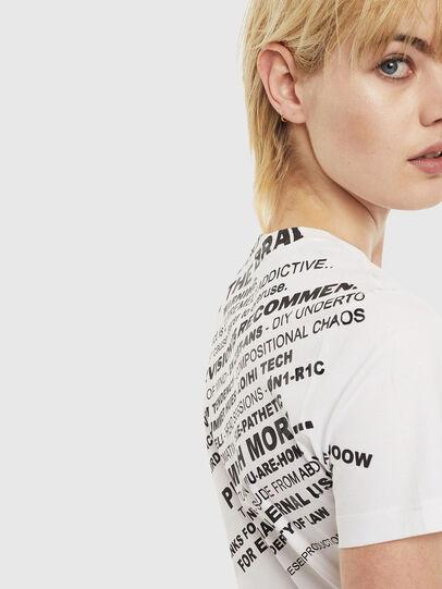 Diesel - T-SILY-S1, Weiß - T-Shirts - Image 3