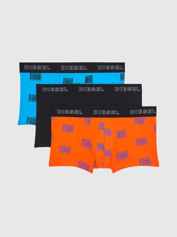 UMBX-DAMIENTHREEPACK, Orange/Schwarz - Boxershorts