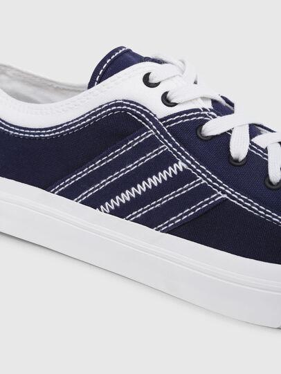 Diesel - S-ASTICO LOW LACE, Blau/Weiß - Sneakers - Image 4