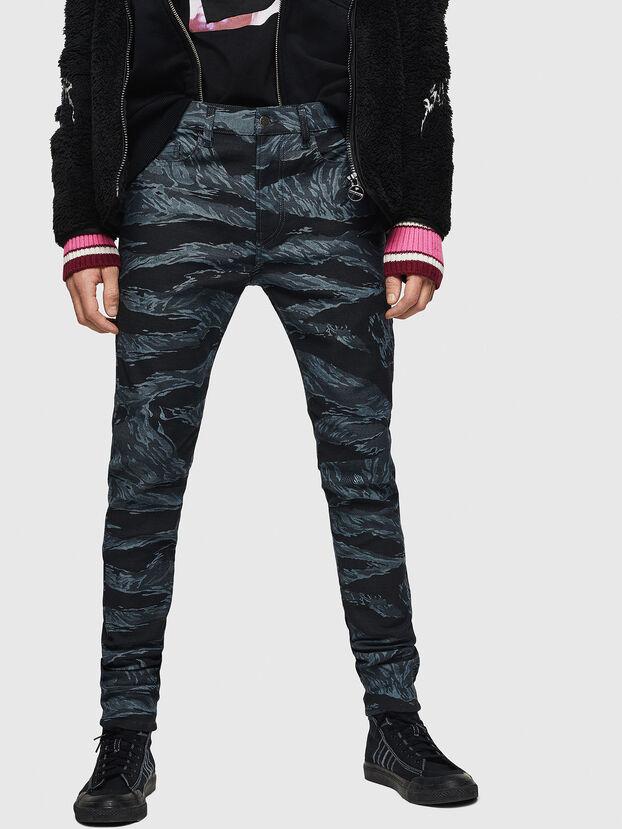 D-Amny 0091R, Dunkelblau - Jeans
