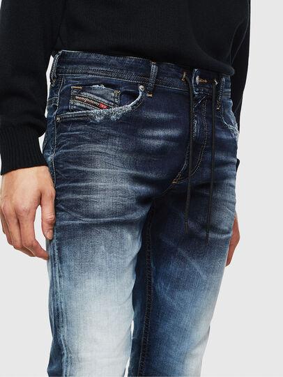 Diesel - Thommer JoggJeans 069KD, Dunkelblau - Jeans - Image 3