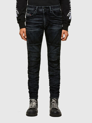 D-Strukt JoggJeans 069TG, Schwarz/Dunkelgrau - Jeans