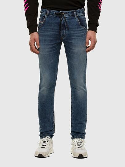 Diesel - Krooley JoggJeans 069NL, Mittelblau - Jeans - Image 1