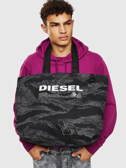 Diesel - D-THISBAG SHOP M, Schwarz - Shopper und Schultertaschen - Image 8