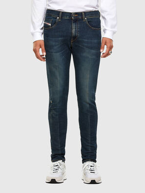 D-Strukt 0093J, Dunkelblau - Jeans
