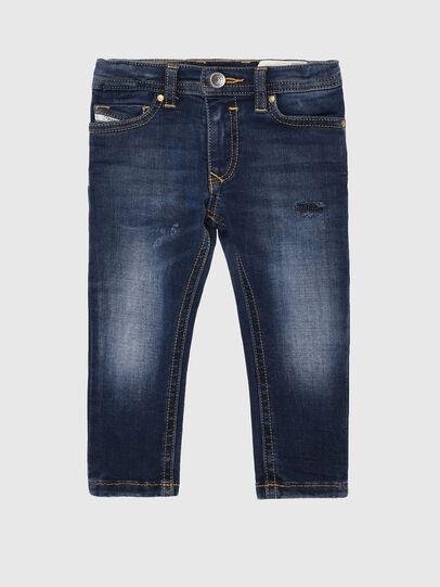 Diesel - SLEENKER-B-N, Mittelblau - Jeans - Image 1