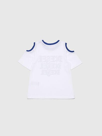 Diesel - TANIURAB-R, Weiß - T-Shirts und Tops - Image 2