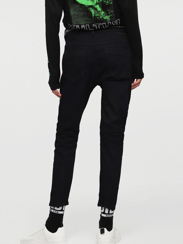 Diesel - Fayza JoggJeans 0829P, Dunkelblau - Jeans - Image 2